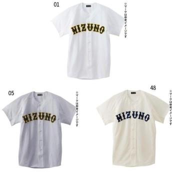 ミズノ メンズ レディース ミズノプロ メッシュシャツ オープン型 野球 野球ウェア トップス ユニフォーム 52MW173