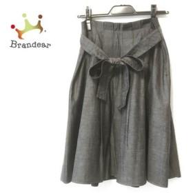 エムズグレイシー M'S GRACY スカート サイズ38 M レディース ダークグレー     スペシャル特価 20190803
