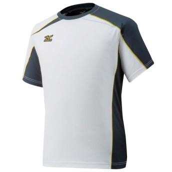 MIZUNO SHOP [ミズノ公式オンラインショップ] 【ミズノプロ】Tシャツ[ユニセックス] 01 ホワイト×ブラック 12JA6T01