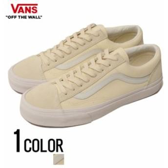 靴 スニーカー メンズ VANS バンズ Style 36 (Vintage Sport) Classic White Blanc De Blanc 即日発送 ヴァンズ SK8 スタイル 36 ローカ