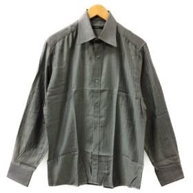 美品 グッチ 長袖ドレスシャツ メンズ SIZE 39/15/ 1/2 (L) GUCCI 中古