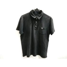 【中古】 フレッドペリー FRED PERRY 半袖ポロシャツ サイズL メンズ 黒