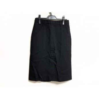 【中古】 ジルサンダー JILSANDER スカート サイズ32 XS レディース 黒