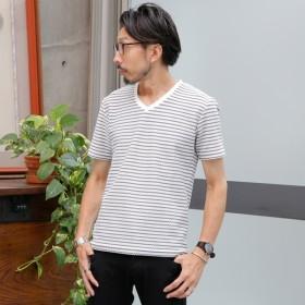 [マルイ]【セール】ポコポコボーダーTシャツ/メンズメルローズ(MEN'S MELROSE)
