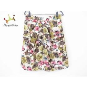 タクーン THAKOON スカート サイズ4 XL レディース 美品 マルチ 花柄   スペシャル特価 20190730