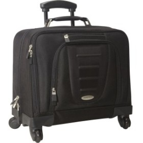 サムソナイト メンズ スーツケース バッグ Spinner Mobile Office Black