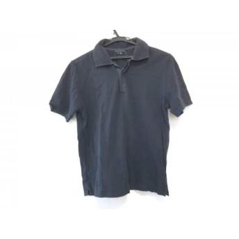 【中古】 セオリー theory 半袖ポロシャツ サイズS レディース 黒