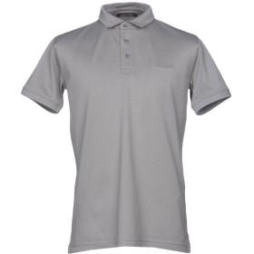 《セール開催中》ROBERTO CAVALLI メンズ ポロシャツ グレー S 100% コットン