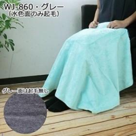ブランケット 洗える!持ち運べる! WETECH WJ-860・グレー 電気(USB)