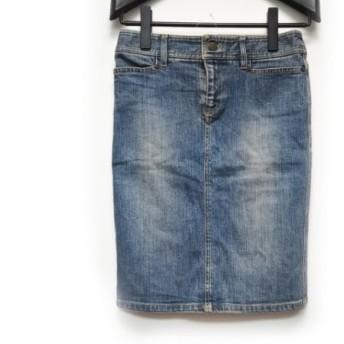 【中古】 ピンキー&ダイアン Pinky & Dianne スカート サイズ38 M レディース ネイビー デニム