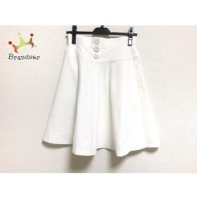ジャスグリッティー JUSGLITTY スカート サイズ1 S レディース 美品 アイボリー     スペシャル特価 20190805