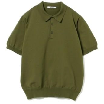 SLOANE / 18ゲージ ショートスリーブポロ メンズ ポロシャツ KHAKI 4/L