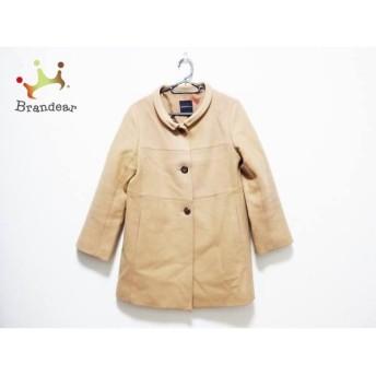トゥモローランド TOMORROWLAND コート サイズ38 M レディース ライトブラウン 冬物/collection 新着 20190602