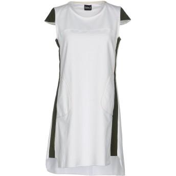 《セール開催中》PETER A & CHRONICLES レディース ミニワンピース&ドレス ホワイト 42 80% コットン 10% レーヨン 10% ポリエステル