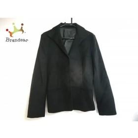 アンタイトル UNTITLED コート サイズ2 M レディース 美品 黒 冬物/ショート丈 新着 20190602