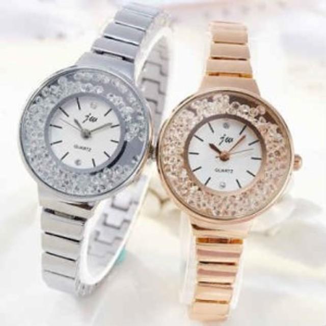 783062e5c0c6b 腕時計 レディース 送料無料 ブレスレットウォッチ キラキラ 安い おしゃれ プレゼント Jewel ジュエル ラインストーン