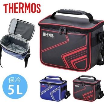クーラーバッグ サーモス THERMOS ソフトクーラー 5L 保冷バッグ クーラーボックス スポーツ 部活 クラブ 合宿 アウトドア レジャー フェス REI-005