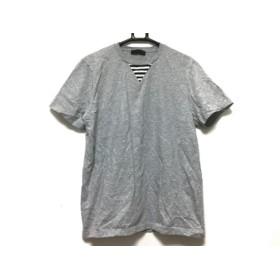 【中古】 エトロ ETRO 半袖Tシャツ サイズS メンズ 美品 グレー