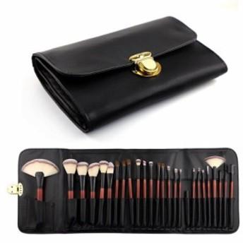 メイクブラシ セット 化粧品 おしゃれ かわいい コスメ チーク アイメイク ブラシ化粧筆セット 携帯 便利 26本セット