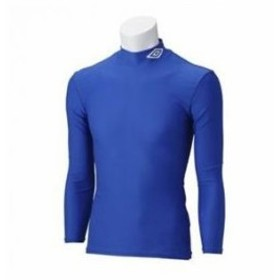 アンブロ umbro サッカー L/Sパワーインナーシャツ UAS9300 BLU
