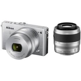 新品同様 ニコン Nikon 1 J4 NIKKOR VR 10-30mm f/3.5-5.6 PD-ZOOMのみ付属