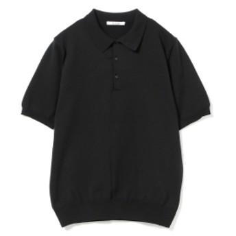 SLOANE / 18ゲージ ショートスリーブポロ メンズ ポロシャツ BLACK 3/M