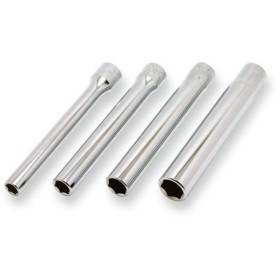 取寄 3300M/4-L120 3300M/4-L120 3/8(9.5mm)SQ. 6角エクストラディープソケットセット 全長120mm ...