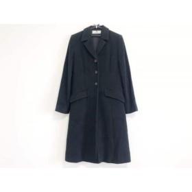 【中古】 ジバンシー GIVENCHY コート サイズ40 M レディース 黒 冬物
