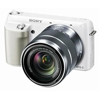 【中古 保証付 送料無料】SONY ミラーレス/一眼 NEX-F3 レンズキット sonyデジタルカメラ ミラーレス 一眼レフカメラ/初心者