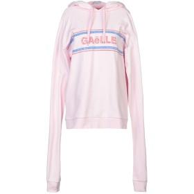 《期間限定 セール開催中》GALLE Paris レディース スウェットシャツ ピンク 2 コットン 100%