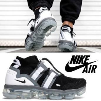 送料無料!!【2】NIKE ナイキ Nike AIR VaporMax FK Utility ブラック スニーカー[AH6834-003]