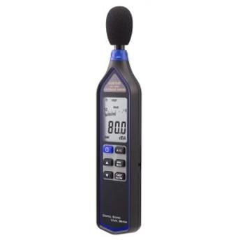 送料無料 カスタム デジタル騒音計 ブラック 32~130dB ケース付 SL-1340U