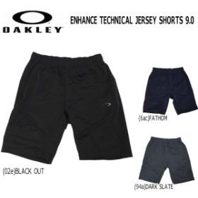 スポーツウェア ジャージパンツ ショーツ メンズ オークリー OAKLEY ENHANCE TECHNICAL JERSEY SHORTS 9.0