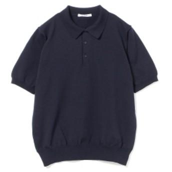 SLOANE / 18ゲージ ショートスリーブポロ メンズ ポロシャツ NAVY 2/S