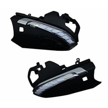 トヨタ NGX50 / ZYX10 C-HR 流れる ドアミラー ウィンカー スイッチ付 レンズ LED オプションランプ 白 AVEST Verti