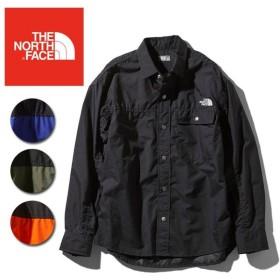 THE NORTH FACE ノースフェイス L/S Nuptse Shirt ロングスリーブヌプシシャツ(ユニセックス)  NR11961 【日本正規品/Tシャツ/アウトドア】