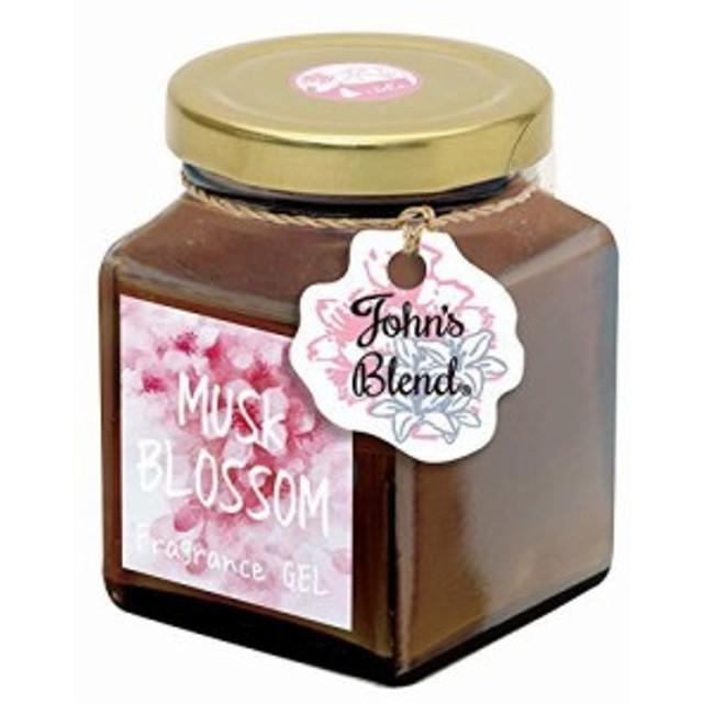 OA-JOS-3-1 桜 ノルコーポレーション ムスクブロッサムの香り JohnsBlend 135g フレグランスジェル