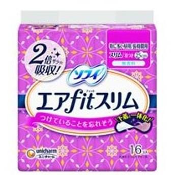 ユニ・チャーム/ソフィ エアfitスリム 250 羽つき 16枚