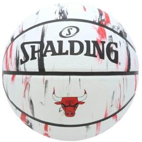 スポルディング バスケットボール バスケットボール7号 ブルズ マーブル 7号 SPALDING 83-930J
