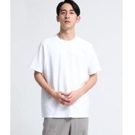 tk.TAKEO KIKUCHI / ティーケー タケオキクチ サマーニットクルーネック(半袖)
