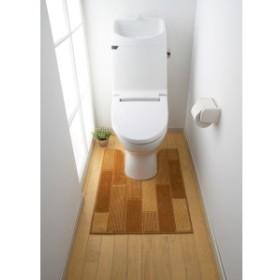 トイレマット トイレ マット サイドロングトイレマットフロアトーン タテ90xヨコ60(代引き不可)【送料無料】