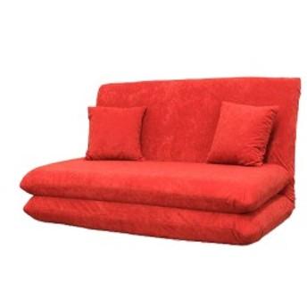 日本製 ソファベッド ソファーベッド セミダブル 2人掛け 2人掛けソファ リクライニング ファーベッド クッション2個付き チロル(代引不