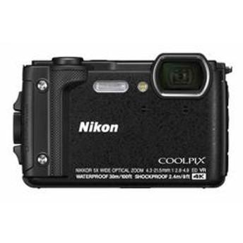 コンパクトデジタルカメラ COOLPIX(クールピクス) W300 ブラック COOLPIXW300BK