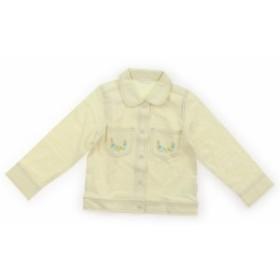 【コンビミニ/Combimini】カーディガン 110サイズ 女の子【USED子供服・ベビー服】(368512)