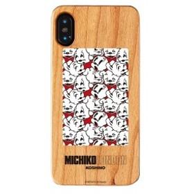iPhone XS iPhone X ケース MICHIKO LONDON ミチコロンドン Betty Boop ベティー ブープ ウッドケース cutie pudgy 【Gizm】