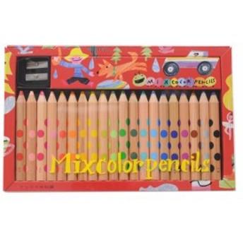 コクヨ 20本 KE-AC2 ミックス色鉛筆 色鉛筆