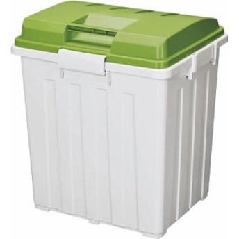 TONBO 連結ハンドルペール90型 グリーン【754】(清掃用品・ゴミ箱)