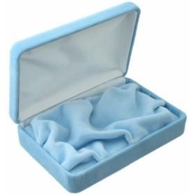 化粧ケース/印鑑ケースを1本収納用/レインボーカラー/ブルー