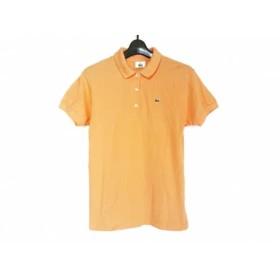 【中古】 ラコステ Lacoste 半袖ポロシャツ サイズ36 S レディース オレンジ