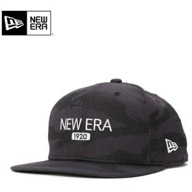 ニューエラ ゴルフ キャップ 帽子 スナップバック 9FIFTY ORIGINAL FIT TIGER STRIPE CAMO DARK GRAY BLACK ブラック NEW ERA GOLF メンズ